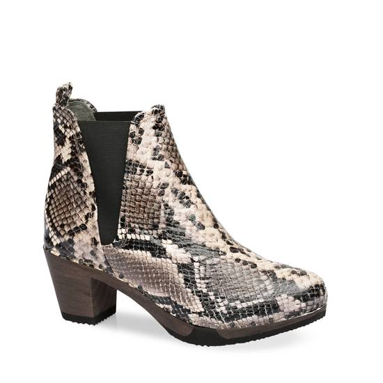 Chelsea Boots mit Animal Prints