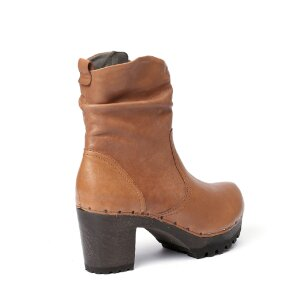 O-BOOTIE Washed Nappa cognac