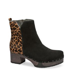 JAEMI cashmere/animalprint black/leo