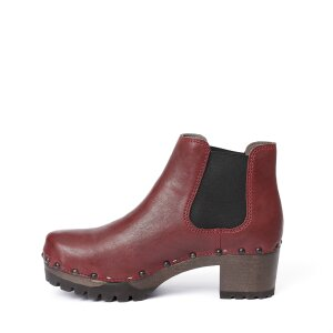 ISABELLE Washed Nappa bordeaux