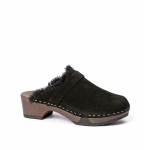 TAIRA cashmere/lambskin black (dark)