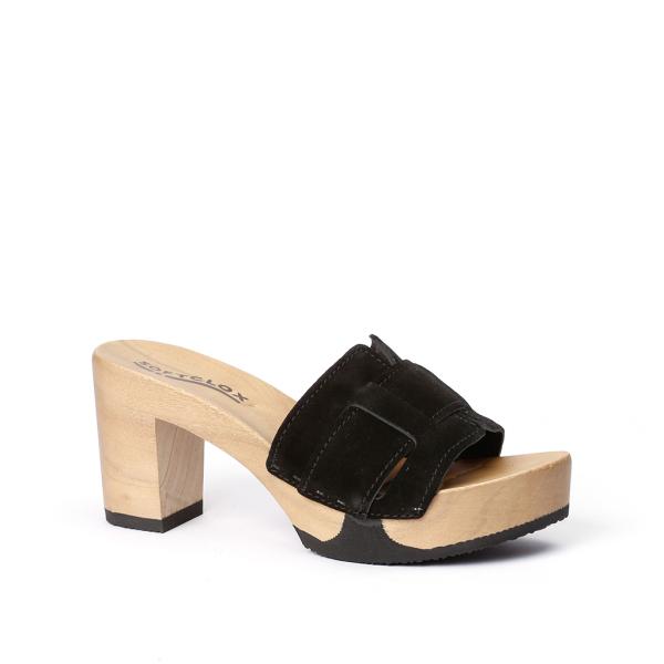ESMERALDA cashmere black (hazelnut)