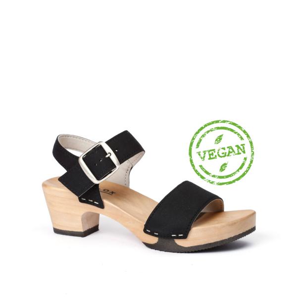KEA vegan-suedes black (hazelnut)
