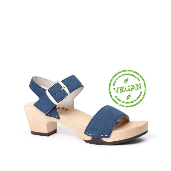 KEA Vegan-Velours nightblue (hazelnut)
