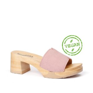 HENRIETTA Vegan-Velours rosé (natur)